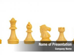 White chess figures