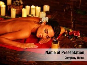 Spa massage woman salon