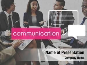 Communication conference ppt theme