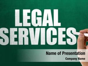 Legal services powerpoint background