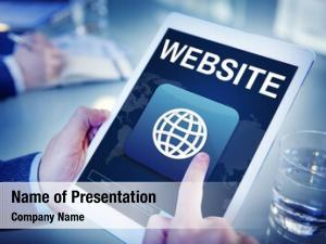 Website global powerpoint theme
