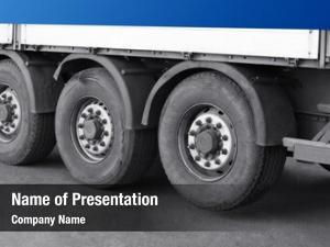 Truck wheels cargo