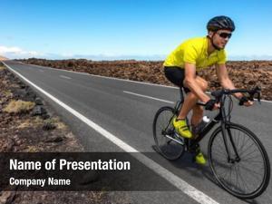 Cyclist road bike man biking