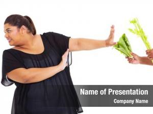 Refuse teen girl have vegetables