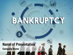 Loss bankruptcy debt recession financial