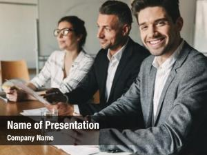 Directors three executive head managers