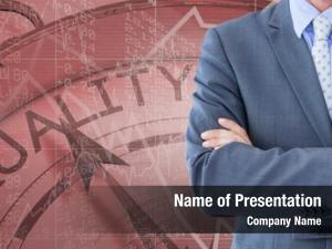 Midsection digital composite businessman quality
