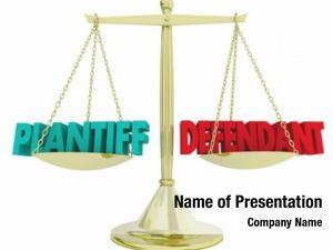 Scale plaintiff defendant justice court