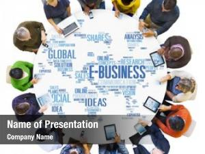 Business e business global commerce online