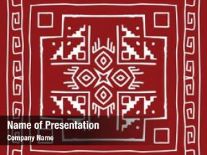 Design, folk, tribal motif, wall