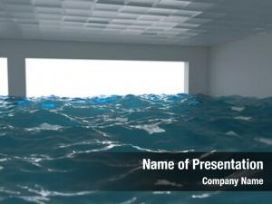 Flood in the office, 3d