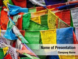 Prayer tibetan buddhism flags (lungta)