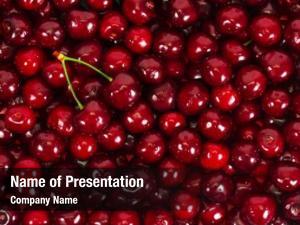 Cherries background ripe