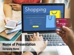 Computer screen add online store