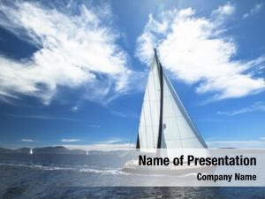 Sailing sailboat participate regatta