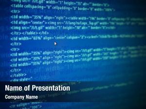 Web screens program code monitor