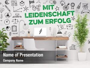 German success concept slogan