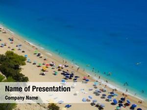 Egremni beach ppt template