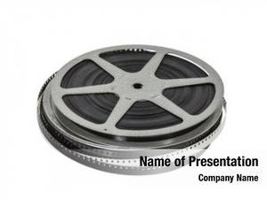 Movie vintage home film reel