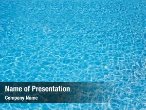 Swimming water blue pool