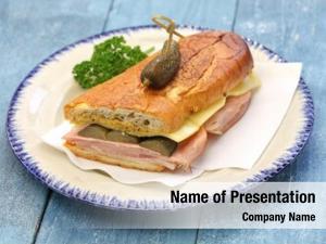 Cuban cuban sandwich, mix, ham