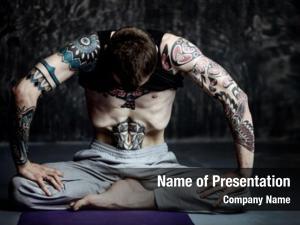 Practicing yoga master yoga