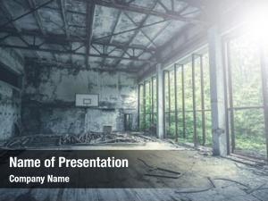 Gym abandoned radioactive school chernobyl