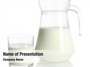 Jug tasty milk glass milk