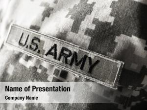 army uniform, closeup