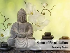 Religious buddha meditation, concept
