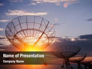 Antenna satellite dishes