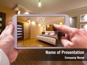 Plan interior visualization tablet computer