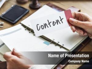Blog content connection