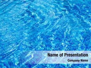 Recreation water blue pool
