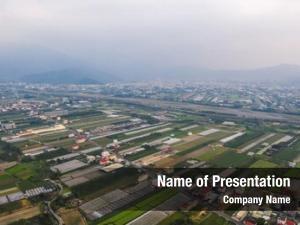 Puli aerial view township farm