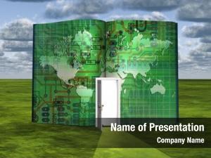 Door book opened electronic board