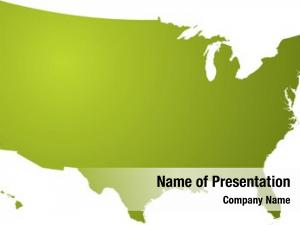 Different illustration map shades green