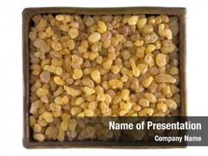 Yellow bowl aromatic resin gum