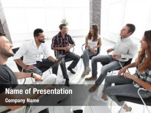 Lesson team sitting team building