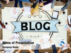 Online blog blogging design web