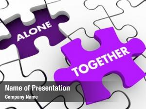 Collaboration alone together partnership group