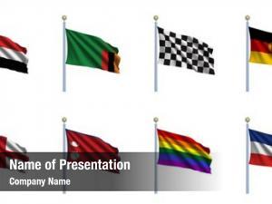 Set world flag yemen, zambia,