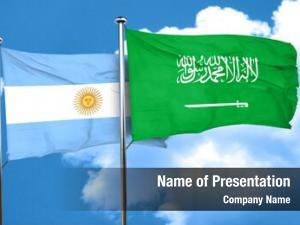 Saudi argentina flag arabia flag,