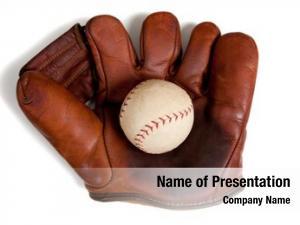 Leather vintage, antique baseball glove