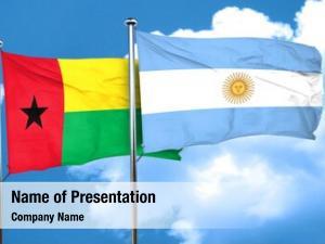 Flag guinea bissau argentine flag,