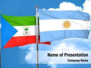 Flag equatorial guinea argentine flag,