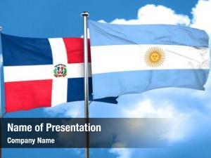 Flag dominican republic argentine flag,