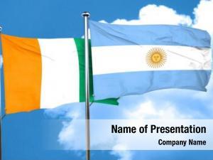 Flag ivory coast argentine flag,