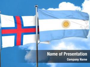 Flag faroe islands argentine flag,