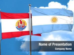 Flag french polynesia argentine flag,